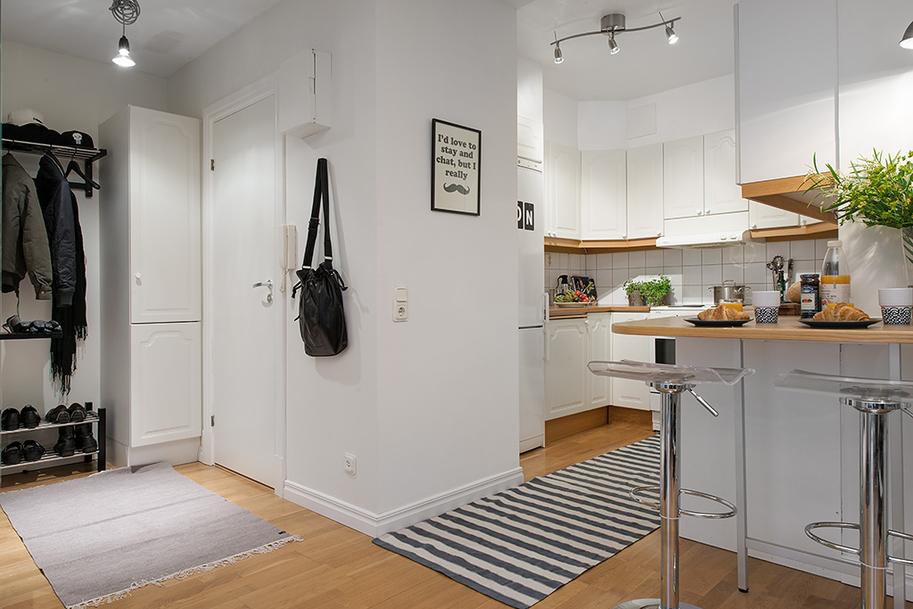 Una pizca de hogar pisito de 42 metros cuadrados muy for Piso 60 metros cuadrados