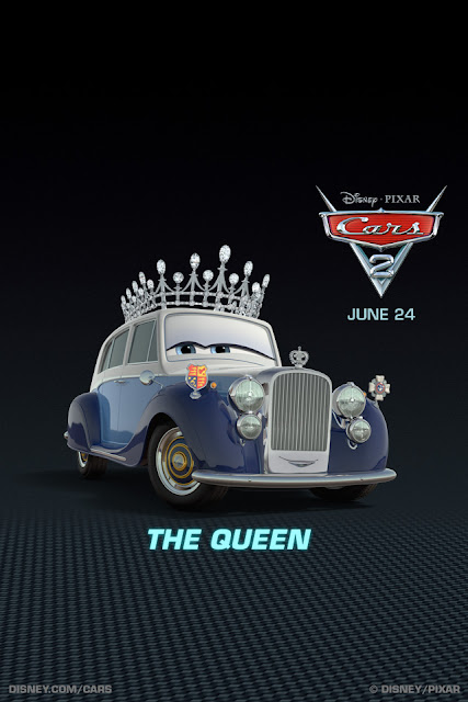 cars2 the queen