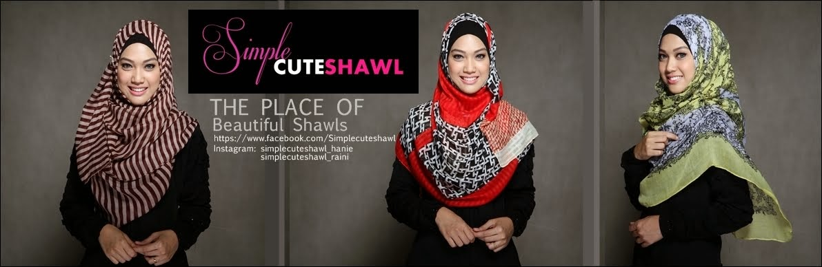 Simple Cute Shawls