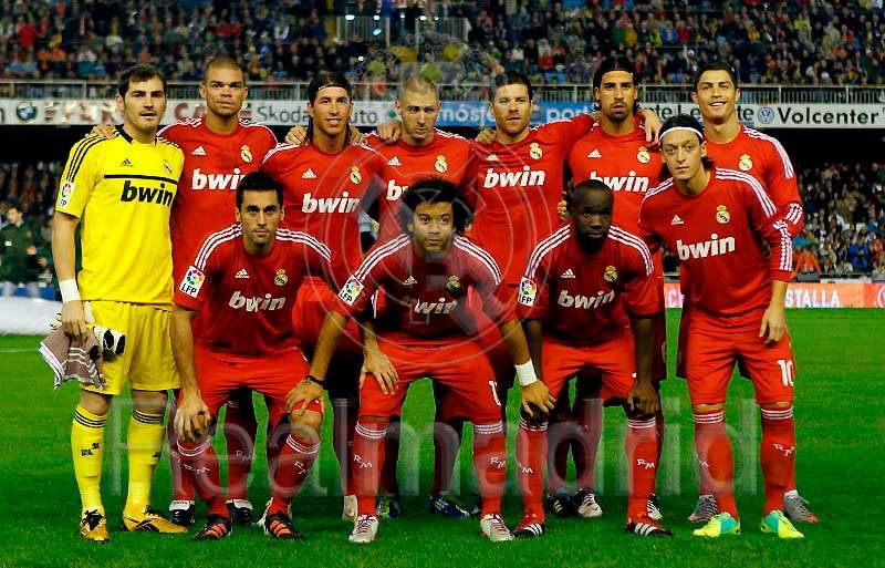 Real Madrid FC Team