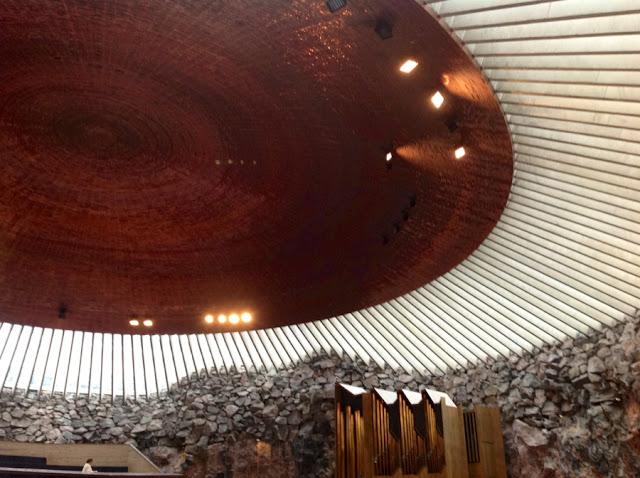 купол церкви внутри