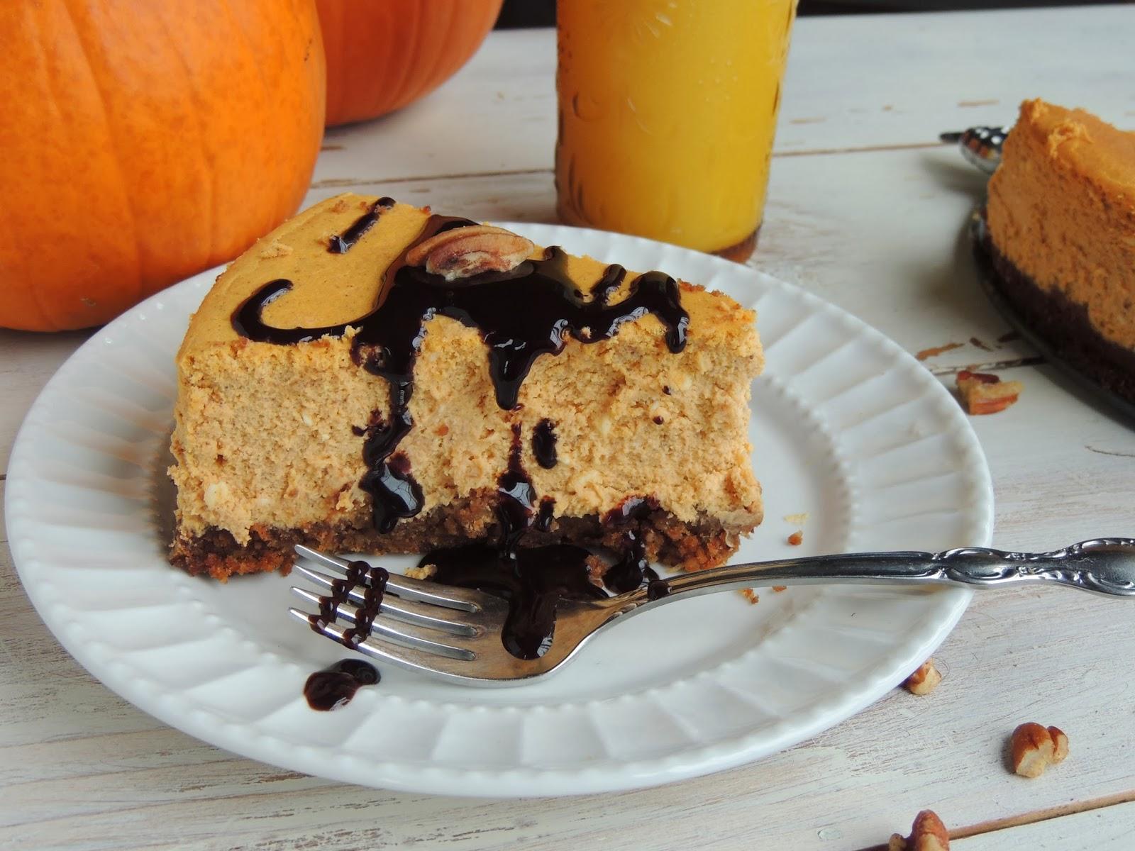 mousse with gingersnap crust pumpkin gingersnap cheesecake pumpkin ...