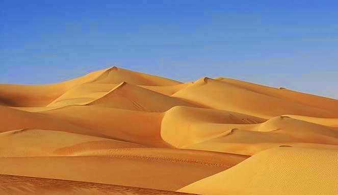 Sebagian besar wilayah Oman adalah gurun pasir