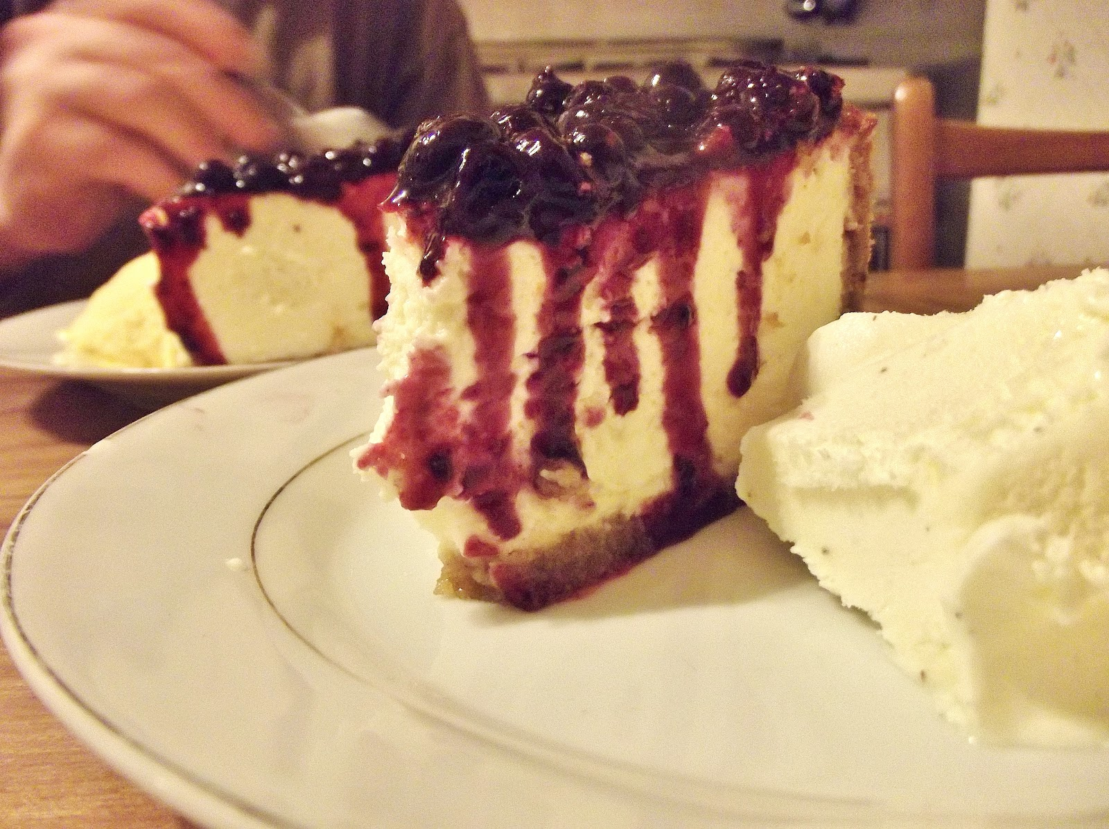 Blackcurrant cake: tasty and fast 46