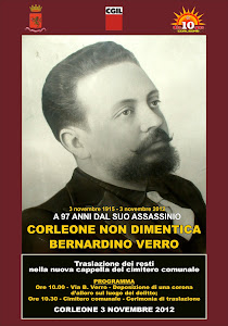 Corleone ricorda B. Verro