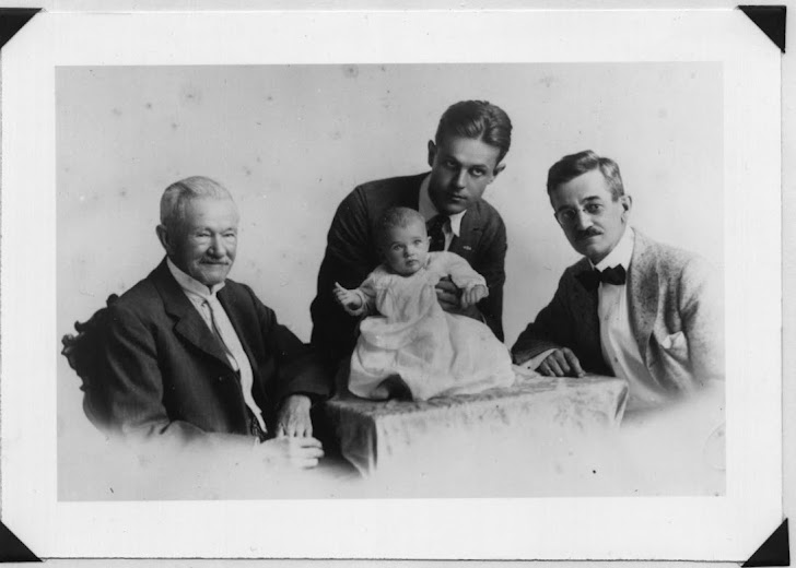 Four generations of RICHARDSONs 1917