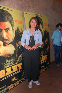 Sonakshi Sinha Picture Gallery at Baby Movie Special Screening