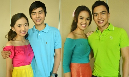 Aryana male and female teen cast - Ella Cruz, Paul Salas, Michelle Vito (Megan Mendez) and Dom Roque (Hubert Francisco)