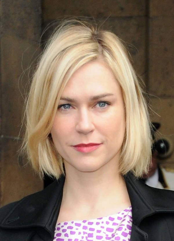 Short Blonde Straight Hairstyles Cute Hairstyles