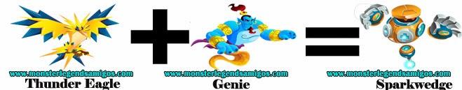 como obtener el monster sparkwedge en monster legends formula 3