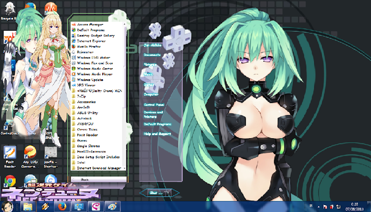 [ Theme Win 7 ] Choujigen Game Neptune 4