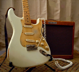 Guitar & Amp aging makeovers by Frank Verrilli