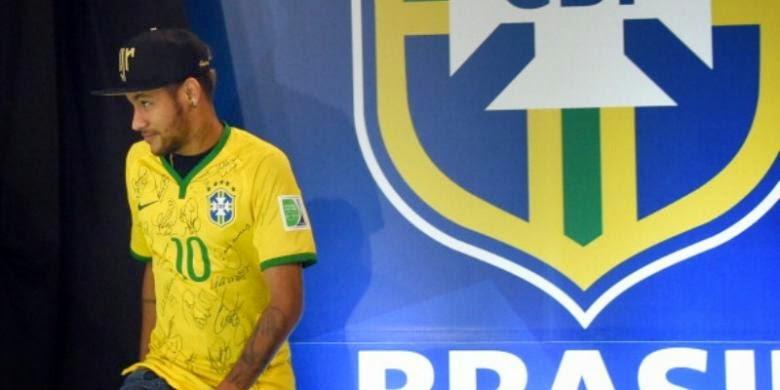 Tim Nas Brasil: Neymar Main di Olimpiade 2016