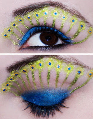 Painted Eye Makeup Seen On www.coolpicturegallery.us