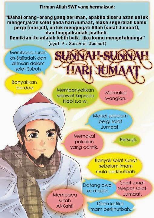 Sunnah-sunnah hari jumaat