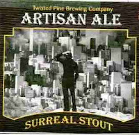 Twisted Pine Artisan Ale Surreal Stout