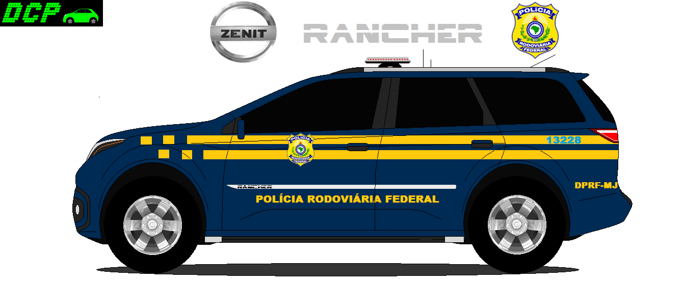 A Super Patrulha: caminhão de bombeiro & carro de polícia com o Trator na Cidade do Carro