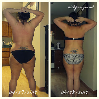 before and after weight loss pix