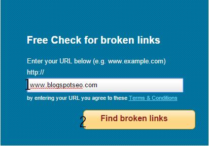 Mengecek dan Memperbaiki Broken link pada blog