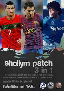 Download pes 6 shollym patch 2012 final