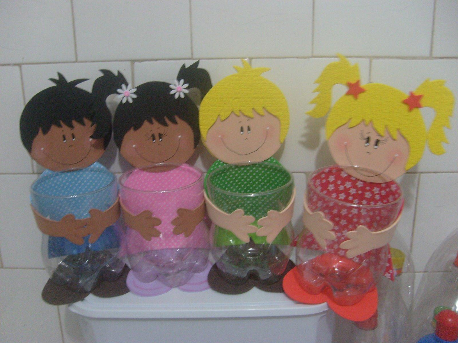 Dulceros con material reciclable para niños - Imagui