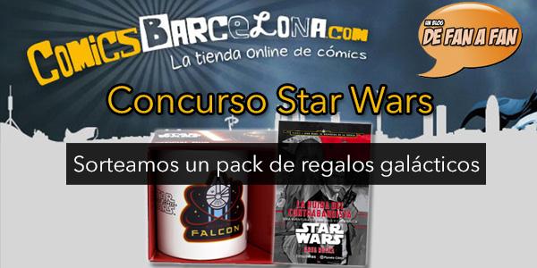Sigue la Starwarsmania: ¡Sorteamos un pack de regalos para fans de la saga galáctica!