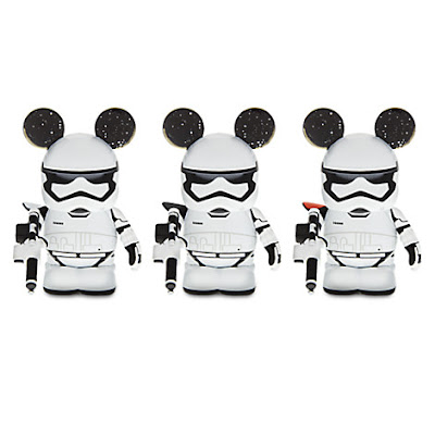 Star Wars: The Force Awakens First Order Stormtrooper Vinylmation Eachez Vinyl Figures by Disney
