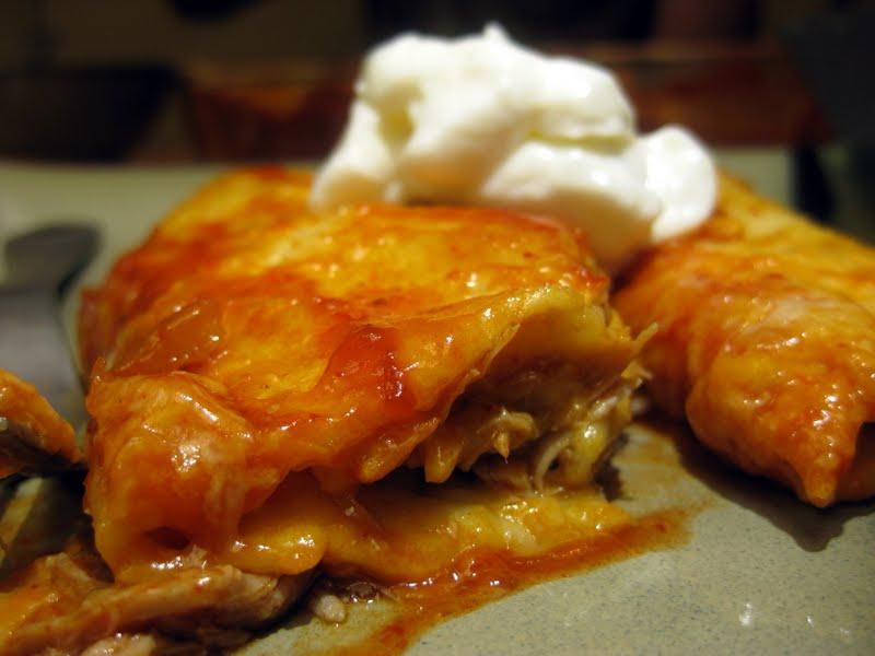 Like Mother, like Daughter - Food: Slow Cooker Pork Enchiladas