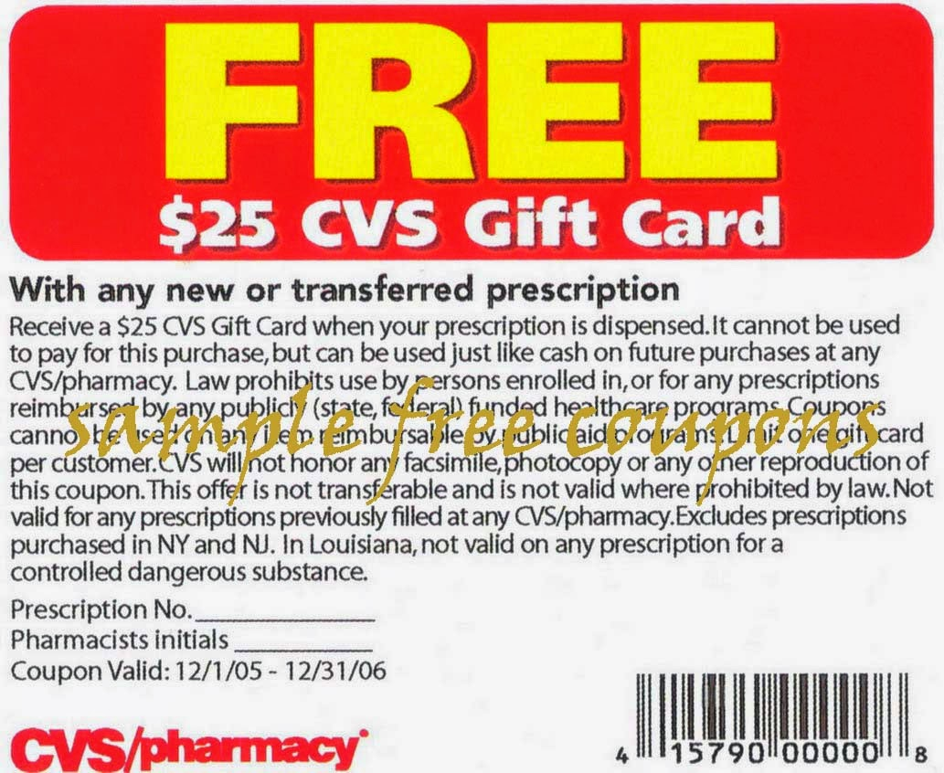 cvs pharmacy coupons july 2014