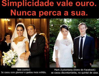 simplicidade vale ouro, simplicidade é tudo, ser simples, simplicidade Mark Zucherberg, casamento do dono do facebook, casamento do ano, casamento simples, casamento pobre, casamento  lindo, como ser simples, como casar sem gastar muito, casamento de Mark Zuchenberg, casamento de Mark Zucherberg, married, marriage