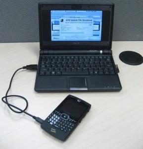 الاتصال بالإنترنت بواسطة هاتف جوال يدعم تقنية ال GPRS