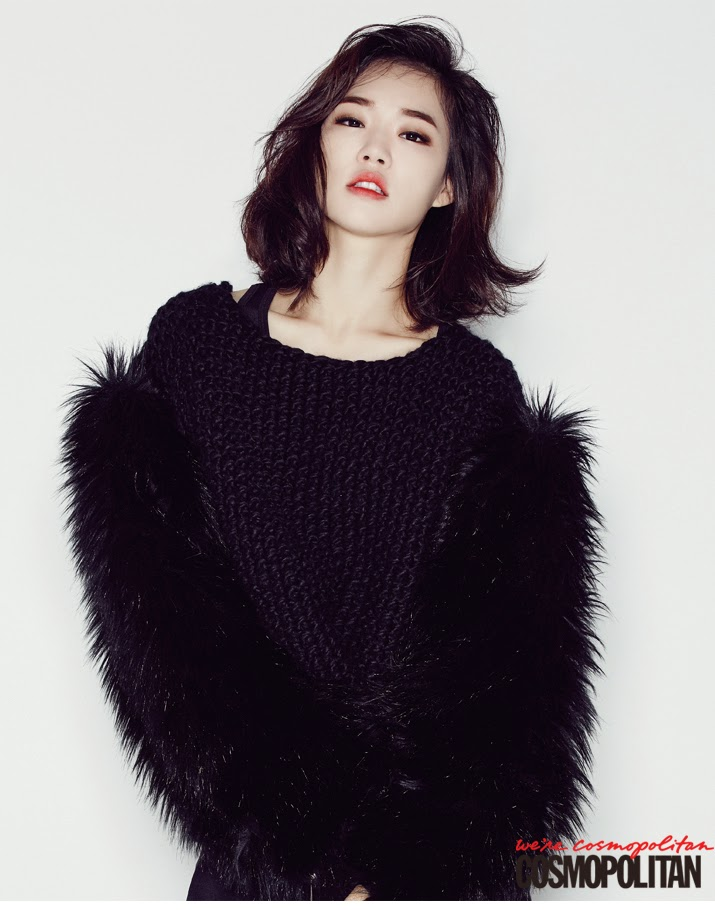 Han Ye Ri - Cosmopolitan Magazine December Issue 2014
