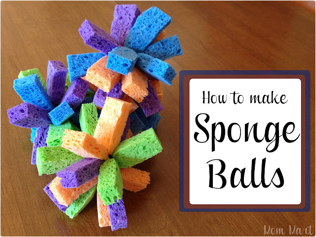 How to make Sponge Balls