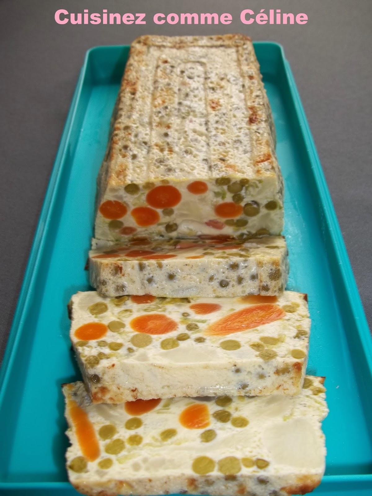 Cuisinezcommec line terrine de l gumes - Terrine de legumes facile et rapide ...