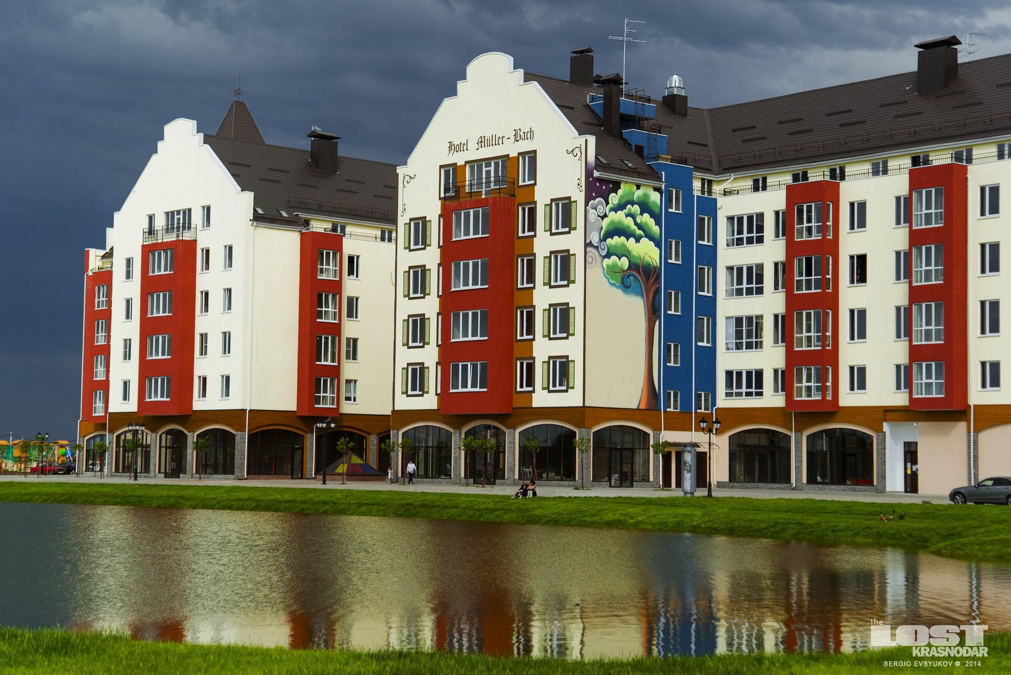 Престижный жилой поселок в Краснодаре
