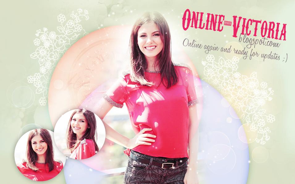 Online Victoria♥ // най-добрият източник за Виктория Джъстис!