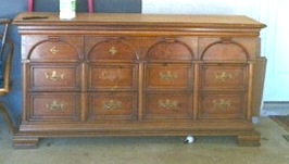 Painting a vintage dresser
