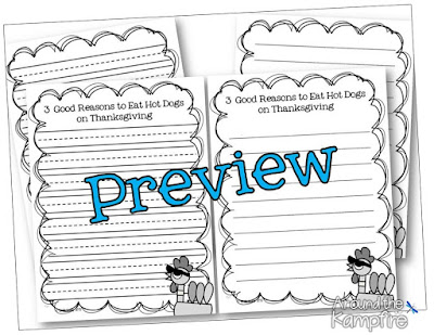 Thanksgiving persuasive writing~A twist on the Pigeon and disguise-a-turkey.