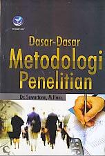 toko buku rahma: buku DASAR-DASAR METODOLOGI PENELITIAN  , pengarang suwartono, penerbit andi offset