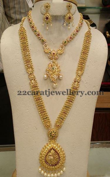 Fancy Gold Long Chain Jewellery Designs