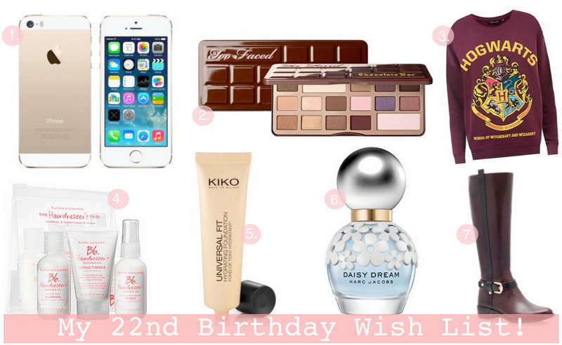 My Ultimate Birthday Wish List!