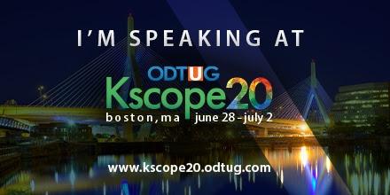 #Kscope20