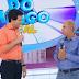 """Pastor Cláudio Ganha Homenagem No Programa """"Domingo Legal"""" (Assista)"""