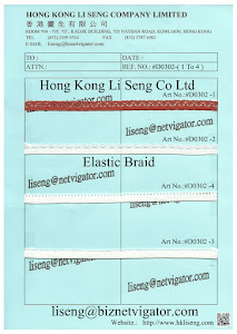 Elastic Braid Manufacturer - Hong Kong Li Seng Co Ltd