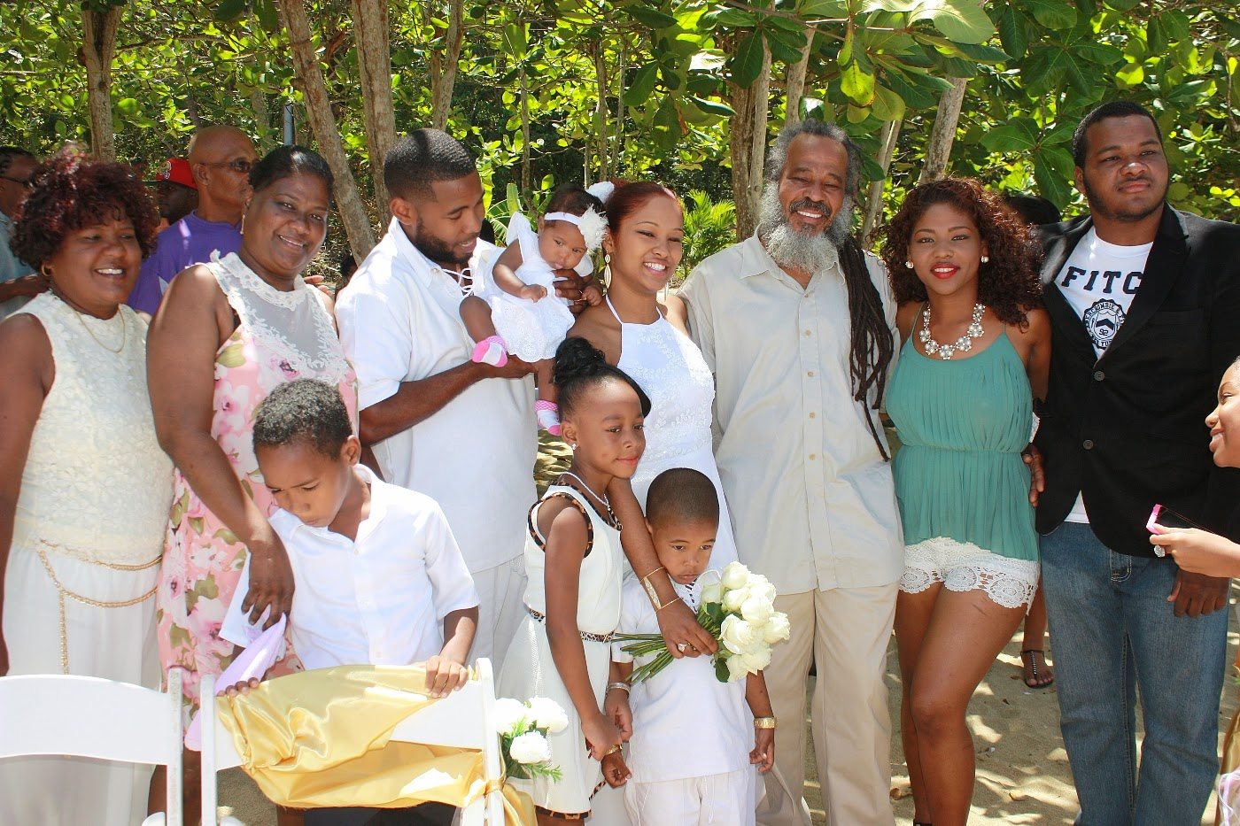 Keith rowley wedding