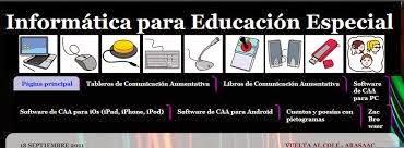 INFORMÁTICA PARA EDUCACIÓN ESPECIAL