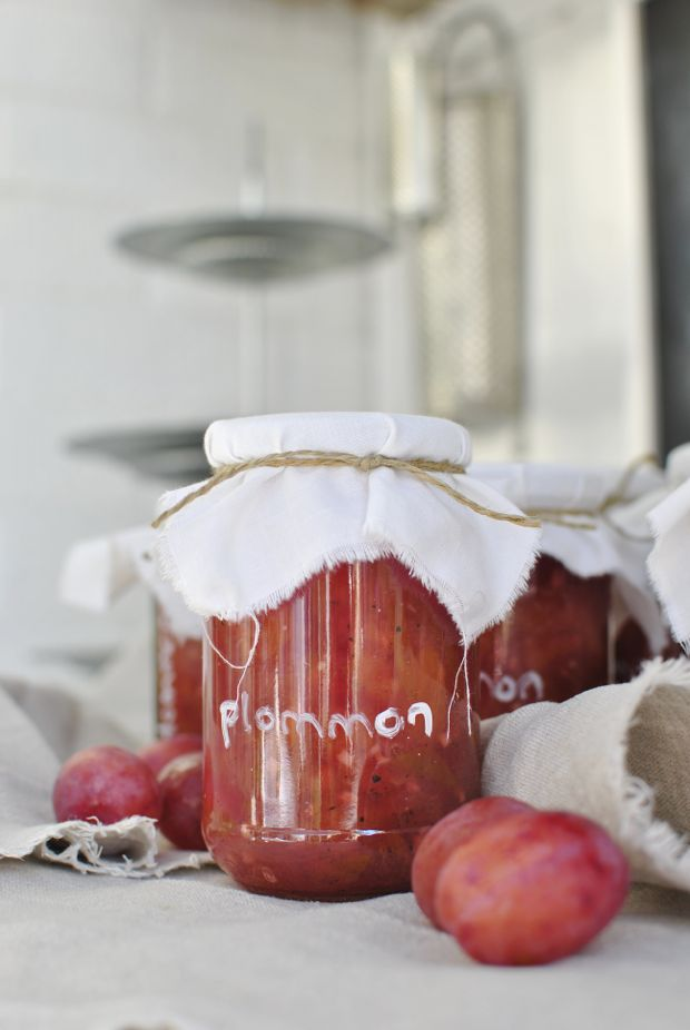 plommonsylt plommonmarmelad ingefära kardemumma victoria plommon