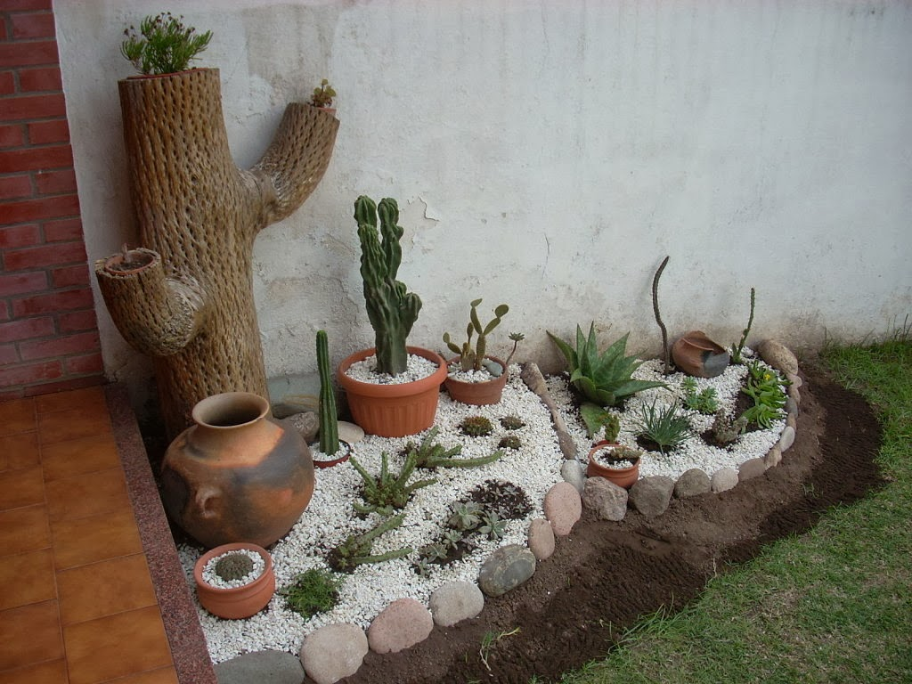 Jardines en macetas for Jardines de madera