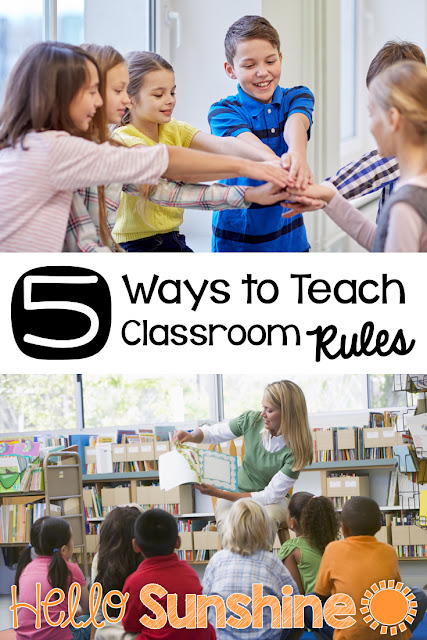 Back to School - 5 Ways to Teach Classroom Rules