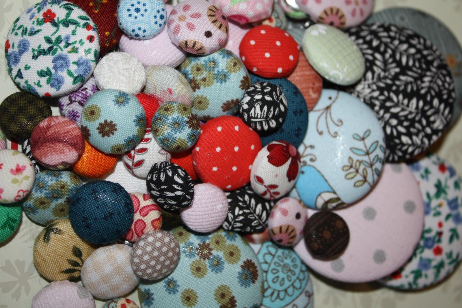 Como forrar botones nosotras mismas - Botones para forrar ...
